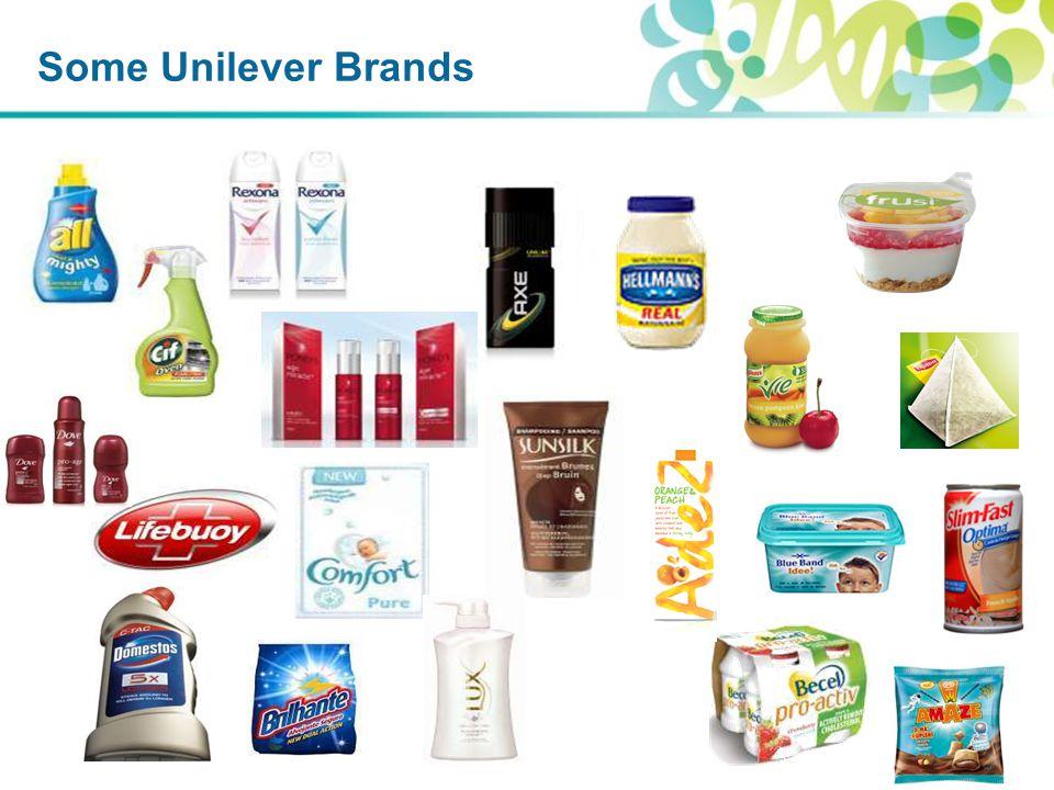 Some Unilever Brands