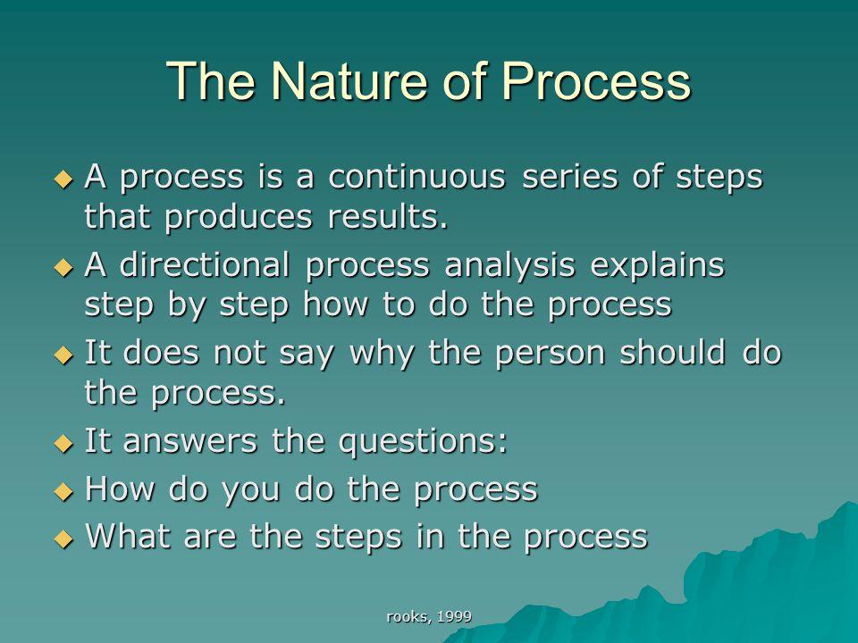 directional process analysis