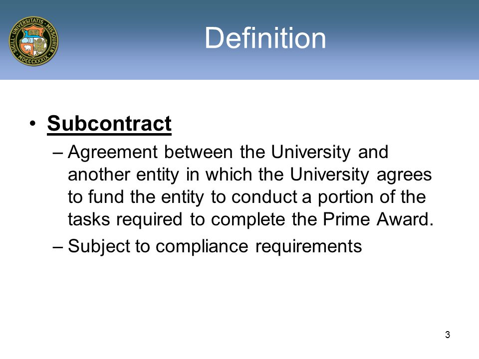 Grants contracts support group december 10 2008 subrecipient and 3 definition subcontract agreement platinumwayz