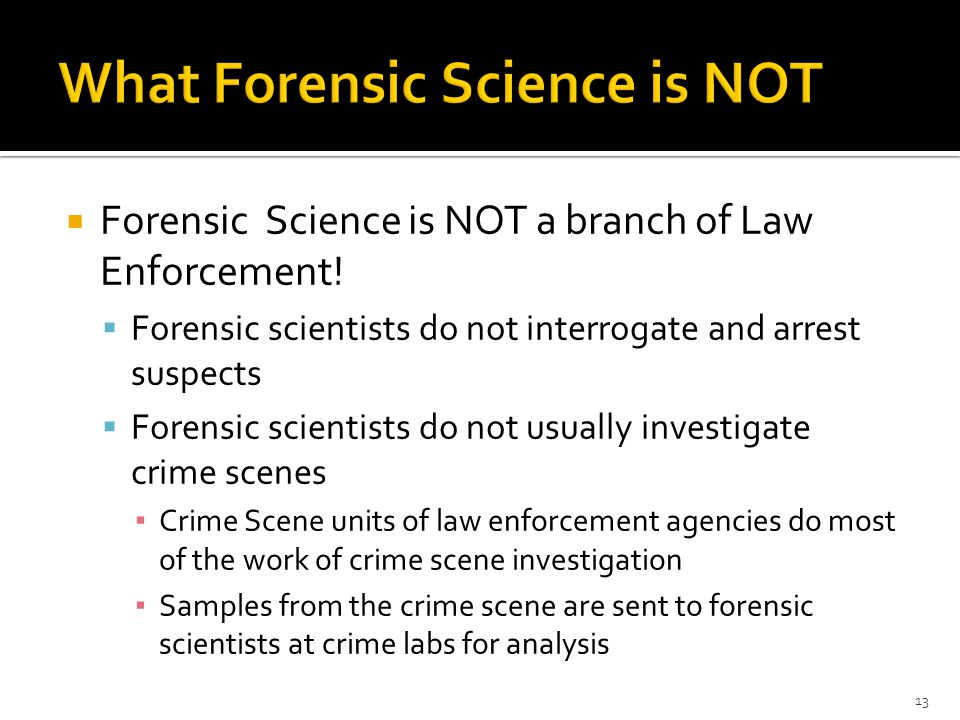 forensic science unit 4