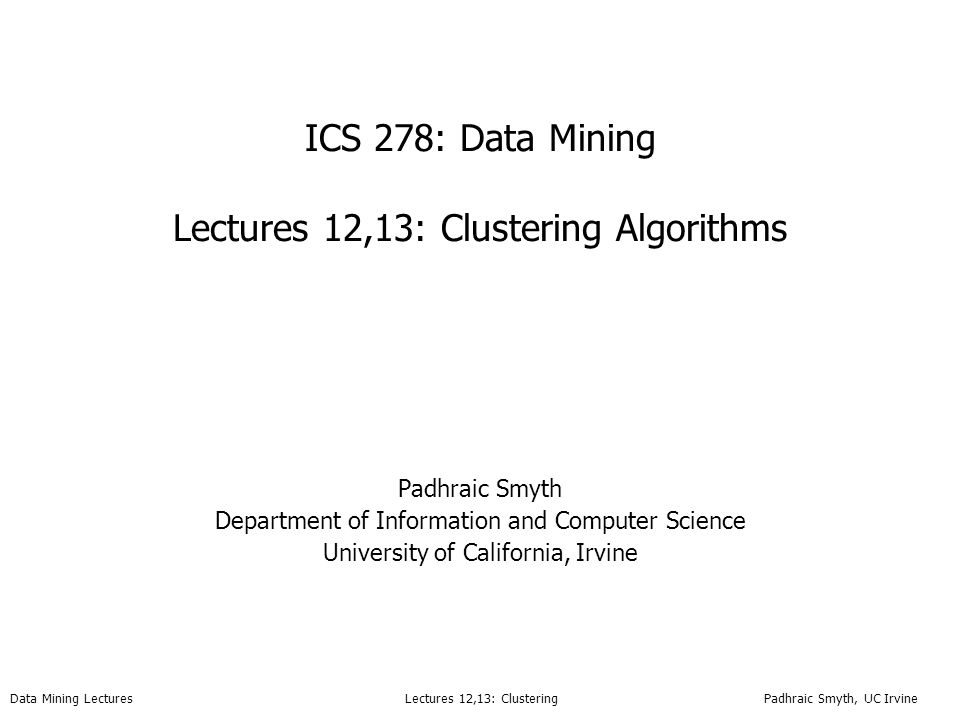 Clustering in data mining thesis