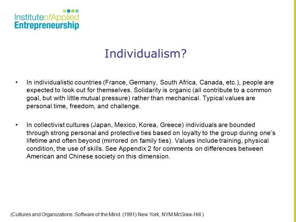 Individualism.
