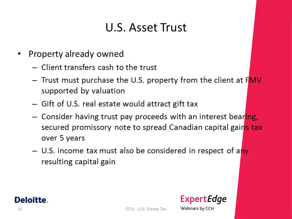 Introduction to U.S. Estate and Gift Tax Mary Ellis, CA. - ppt ...