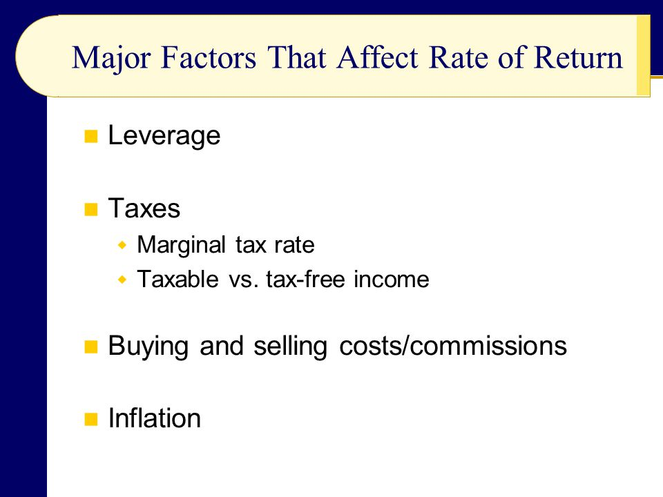 Leverage Taxes  Marginal tax rate  Taxable vs.