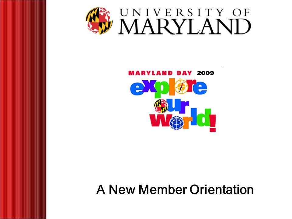 A New Member Orientation