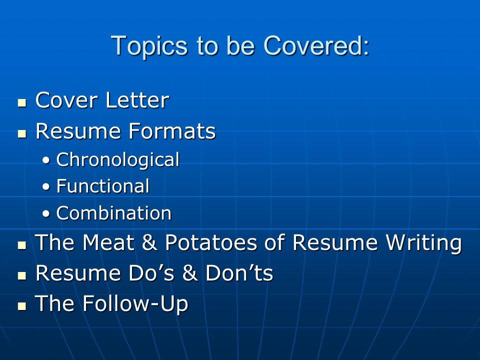2 Topics ...