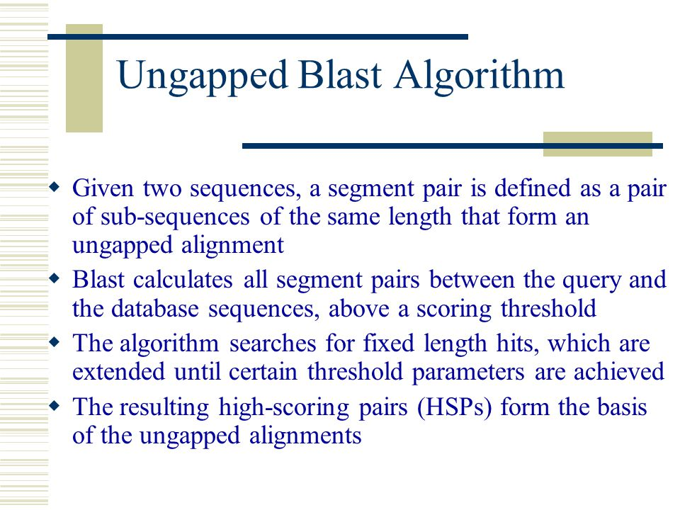 """Presentation """"Alignment Class II We continue where we stopped last ..."""