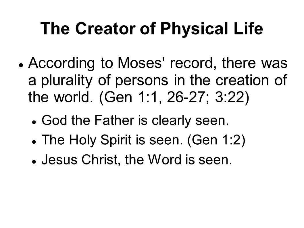 jesus christ the creator jesus christ the creator of physical