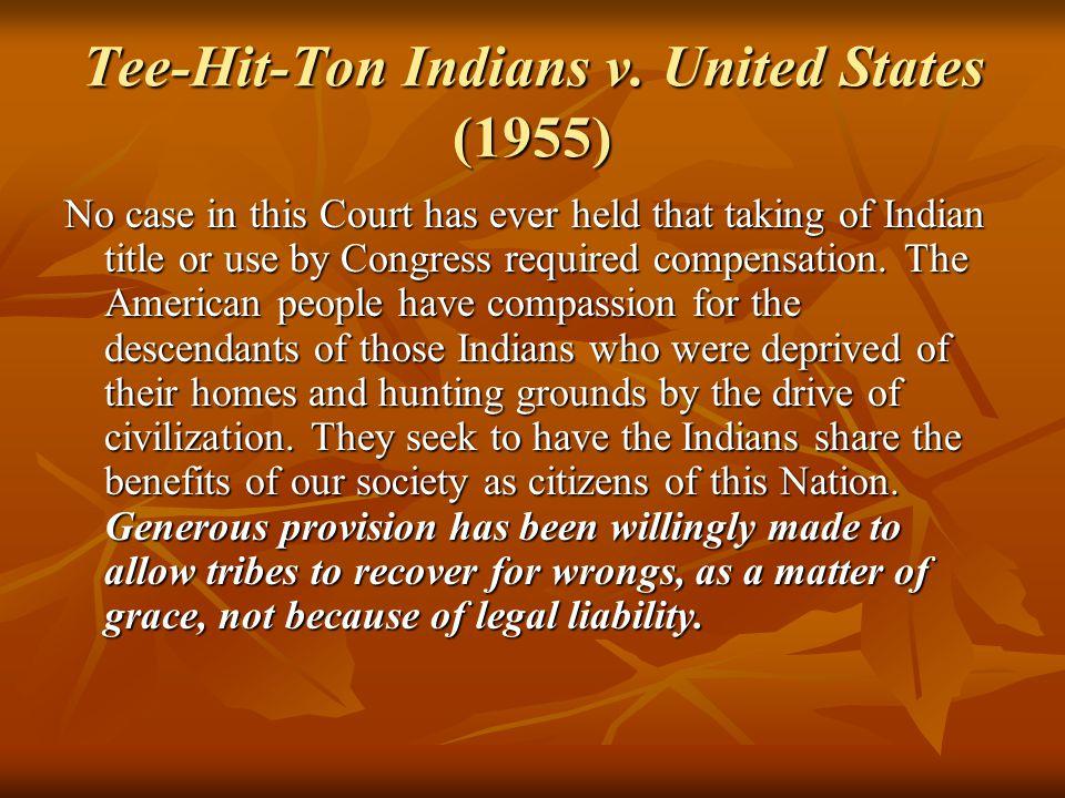 Tee-Hit-Ton Indians v.