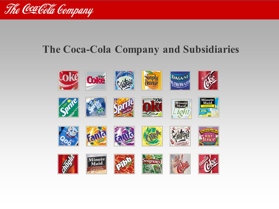 The Coca-Cola Company and Subsidiaries