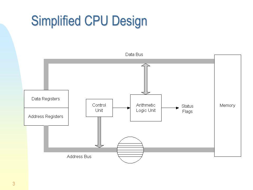 3 Simplified CPU Design
