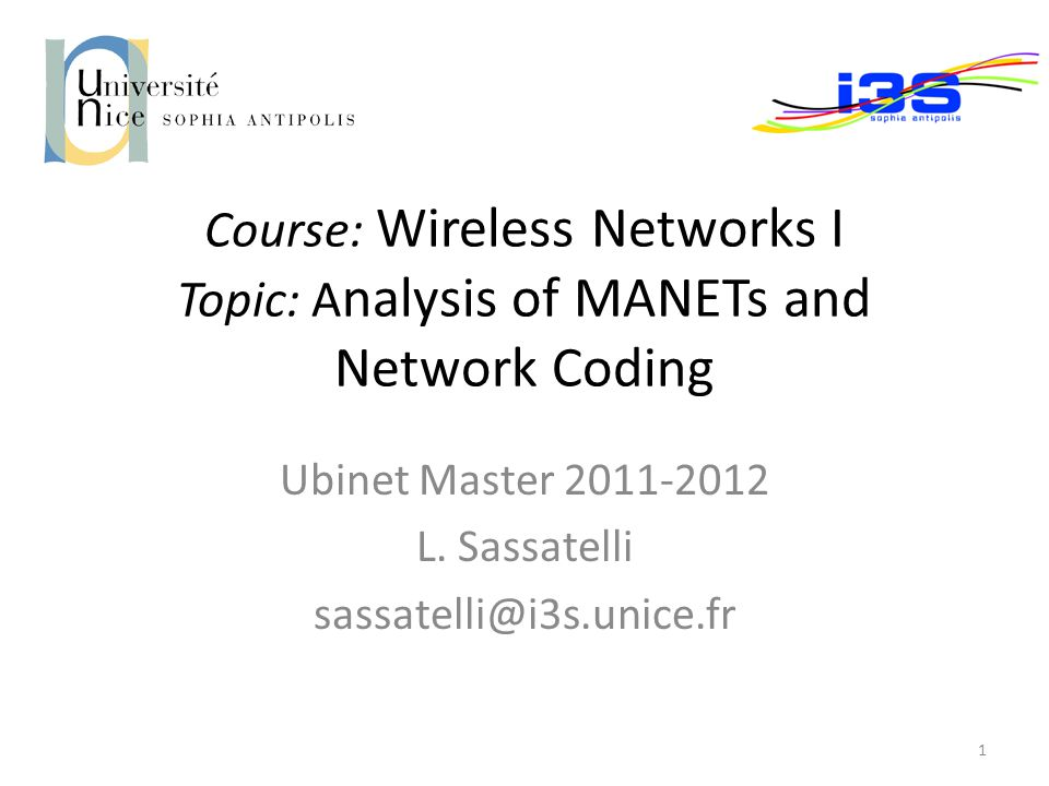 wireless networks thesis