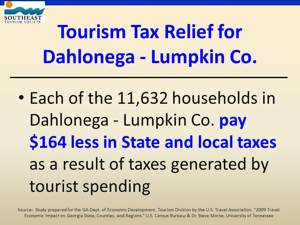 Each of the 11,632 households in Dahlonega - Lumpkin Co.
