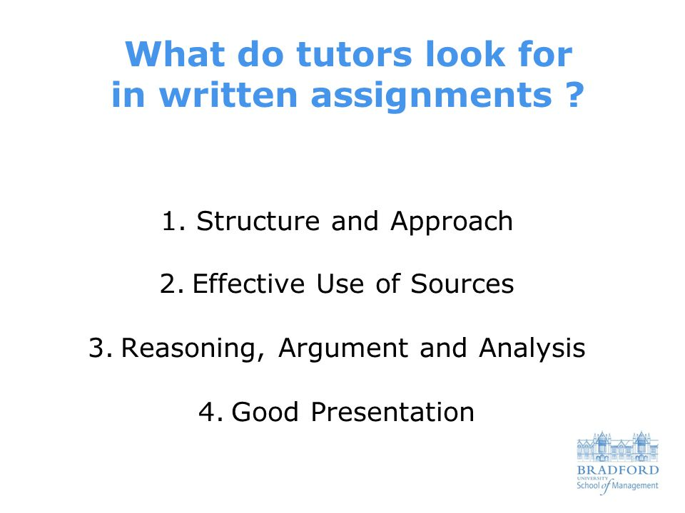 essay writing structure what do tutors look for in assignments  2 1