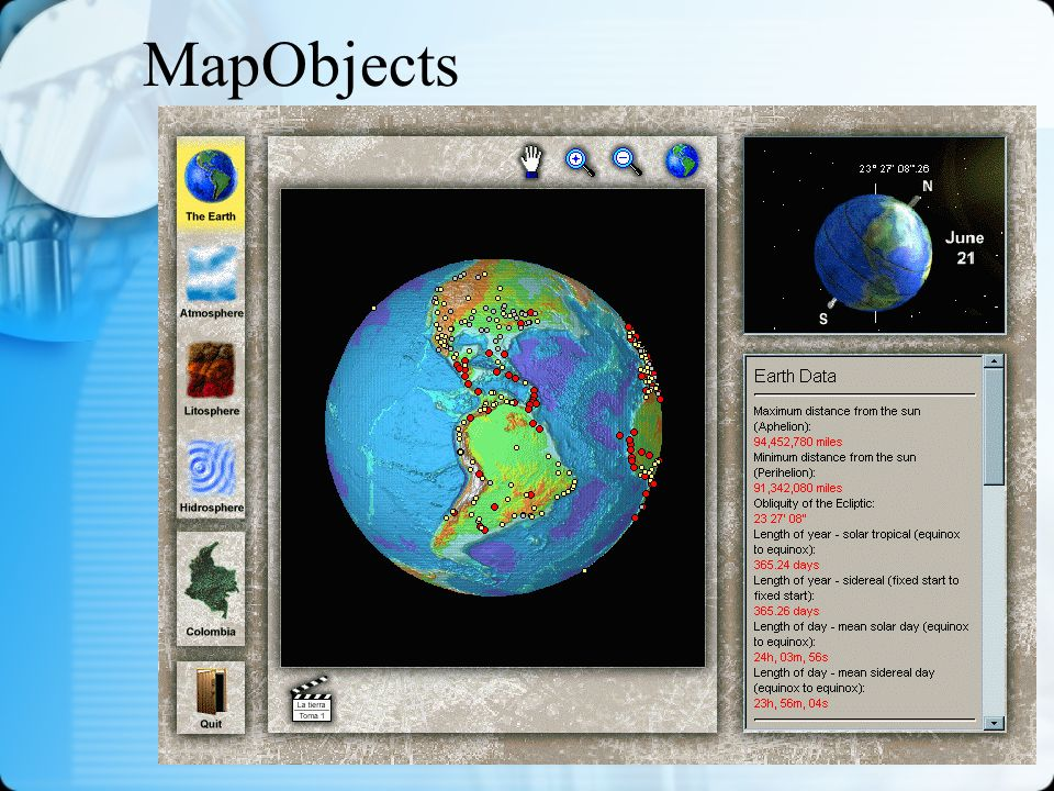 MapObjects