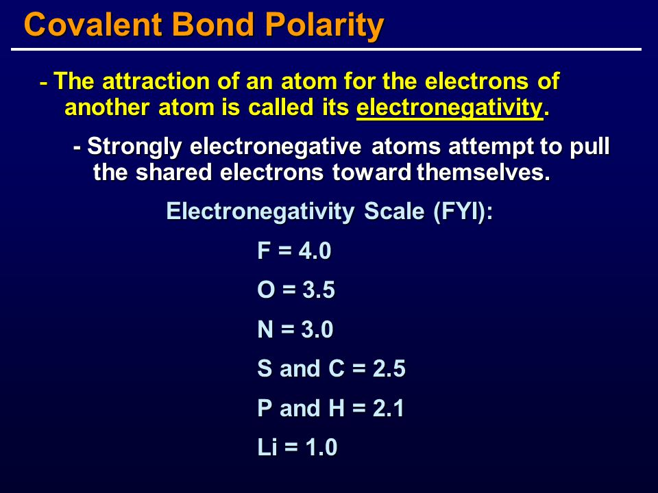 Every atom has a characteristic total number of covalent bonds that it can form - an atom's valence.