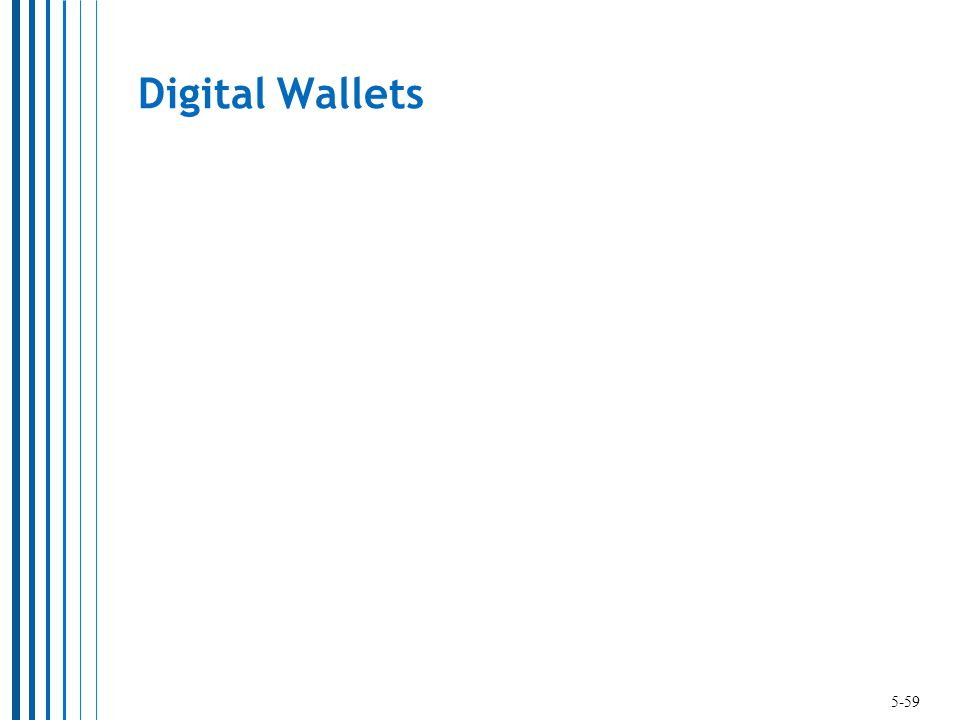 Digital Wallets 5-59