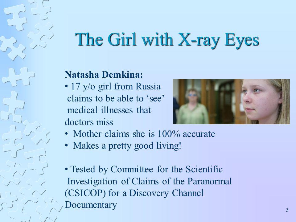 """Résultat de recherche d'images pour """"Natasha Demkina, x rays medical"""""""