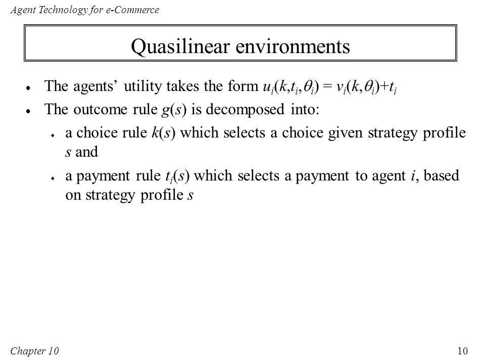 Agent Technology for e-Commerce Chapter 10: Mechanism Design Maria ...