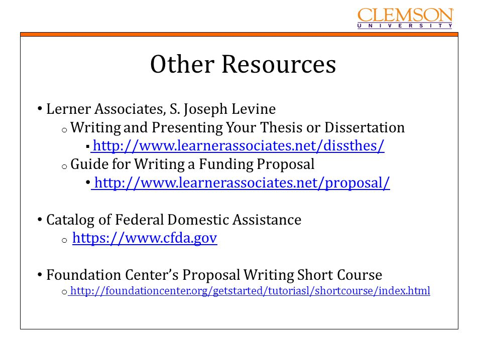 Help Writing Dissertation Proposal Tutorial