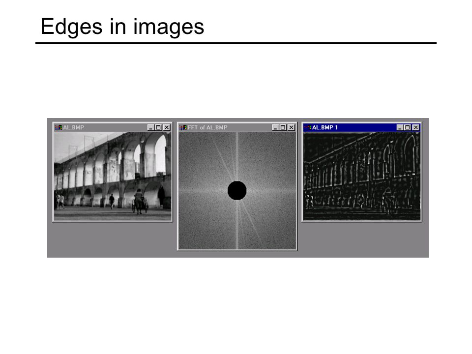Edges in images