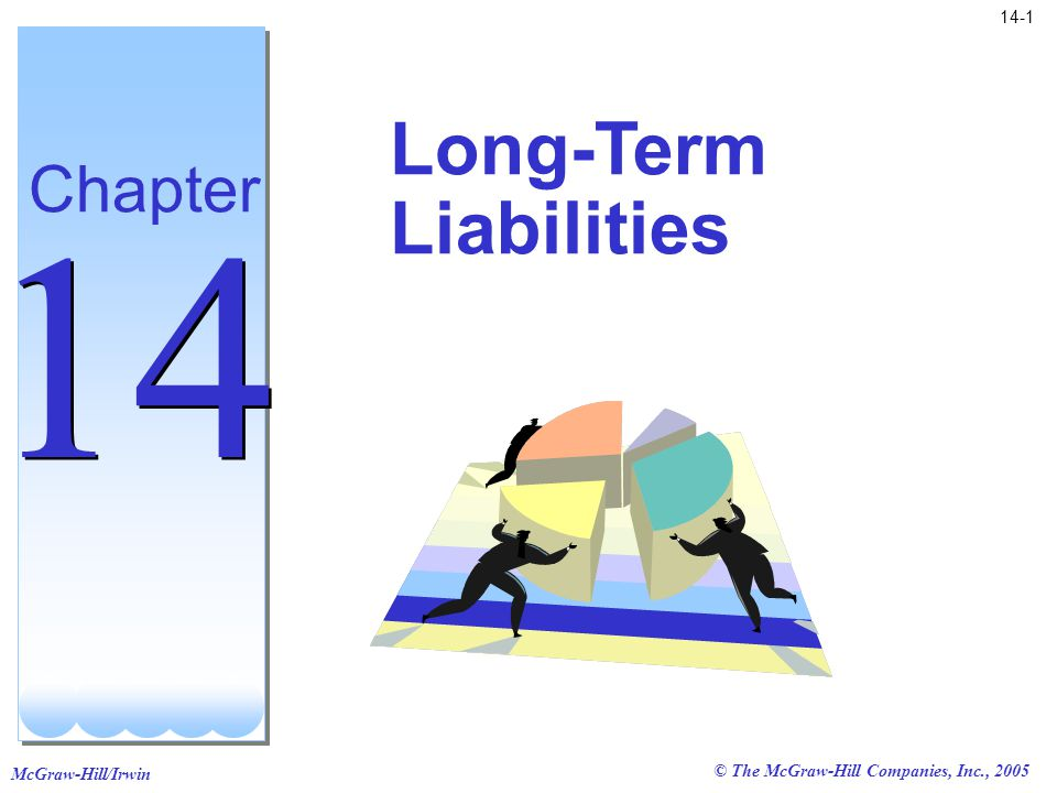 McGraw-Hill/Irwin 14-1 © The McGraw-Hill Companies, Inc., 2005 Long-Term Liabilities Chapter 14