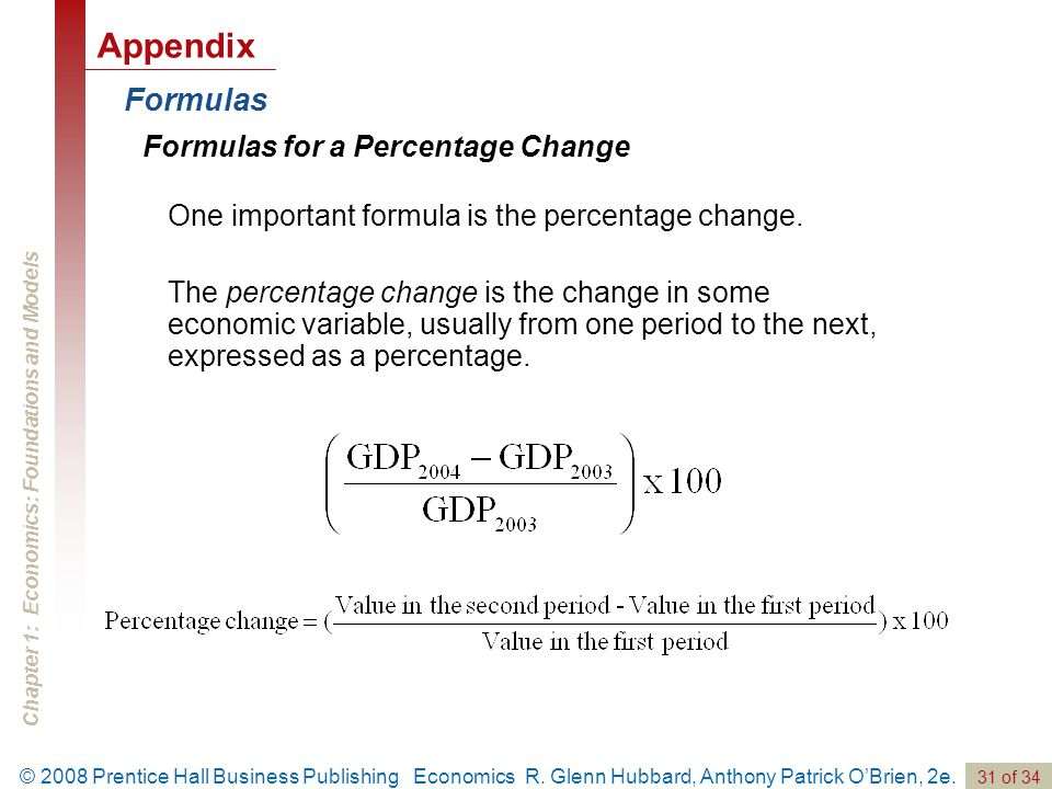 Chapter 1: Economics: Foundations and Models 31 of 34 © 2008 Prentice Hall Business Publishing Economics R.