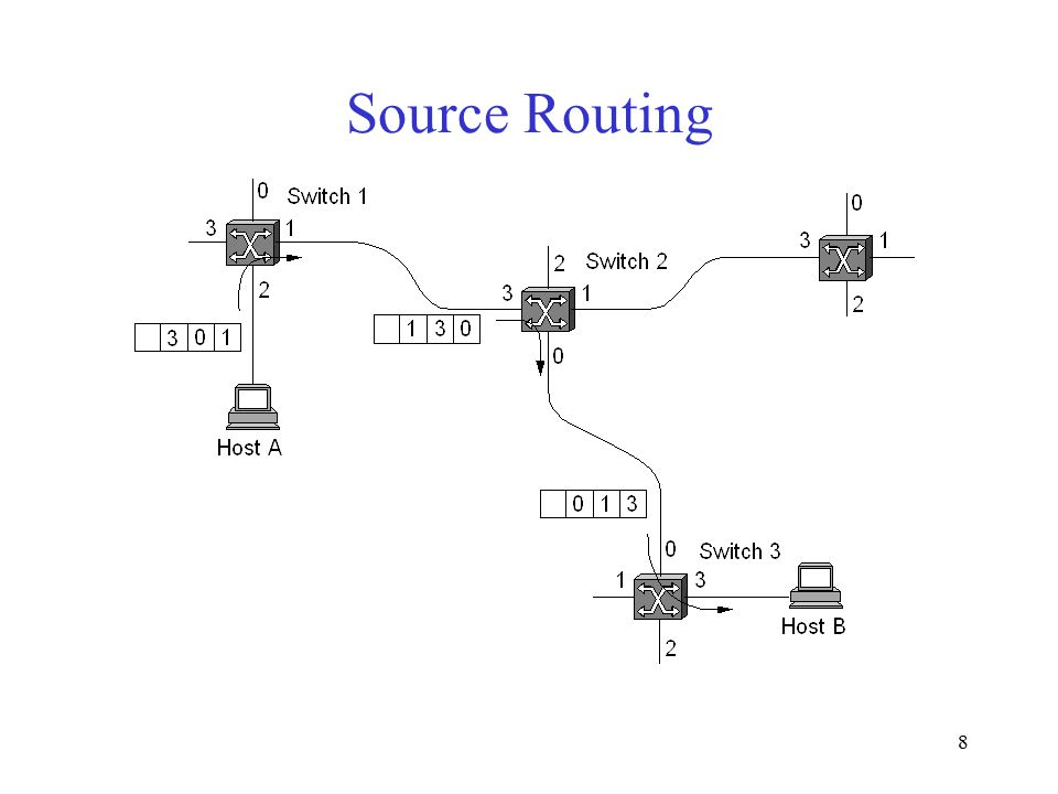 8 Source Routing