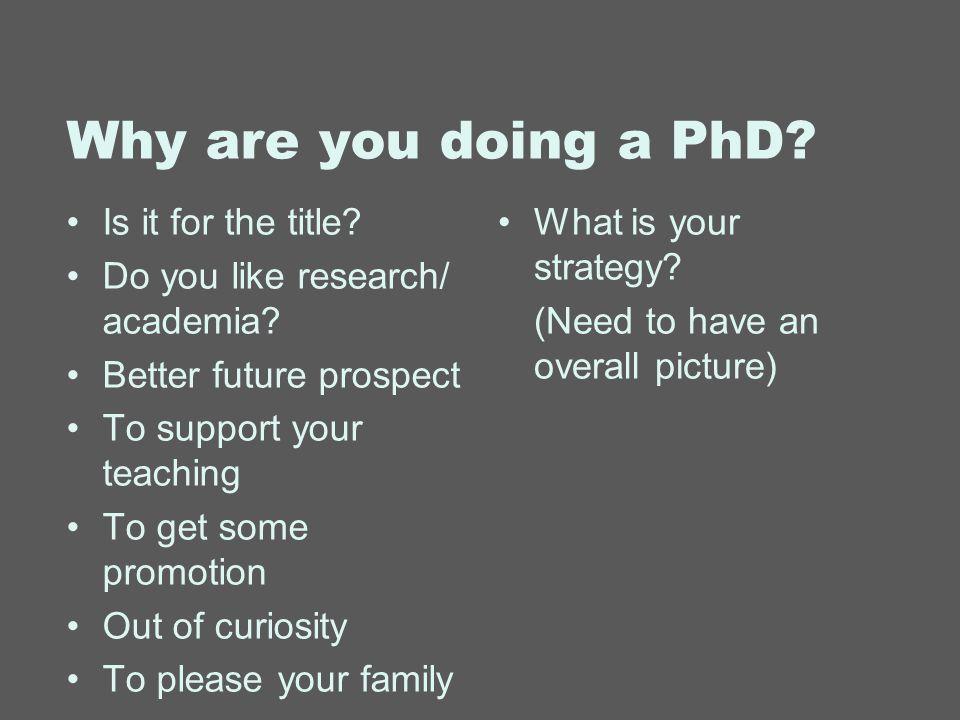 How do you get a phd