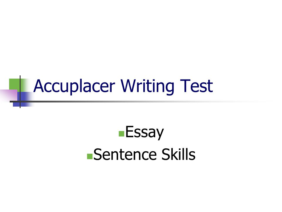 What are the skills to write a one paragraph essay?