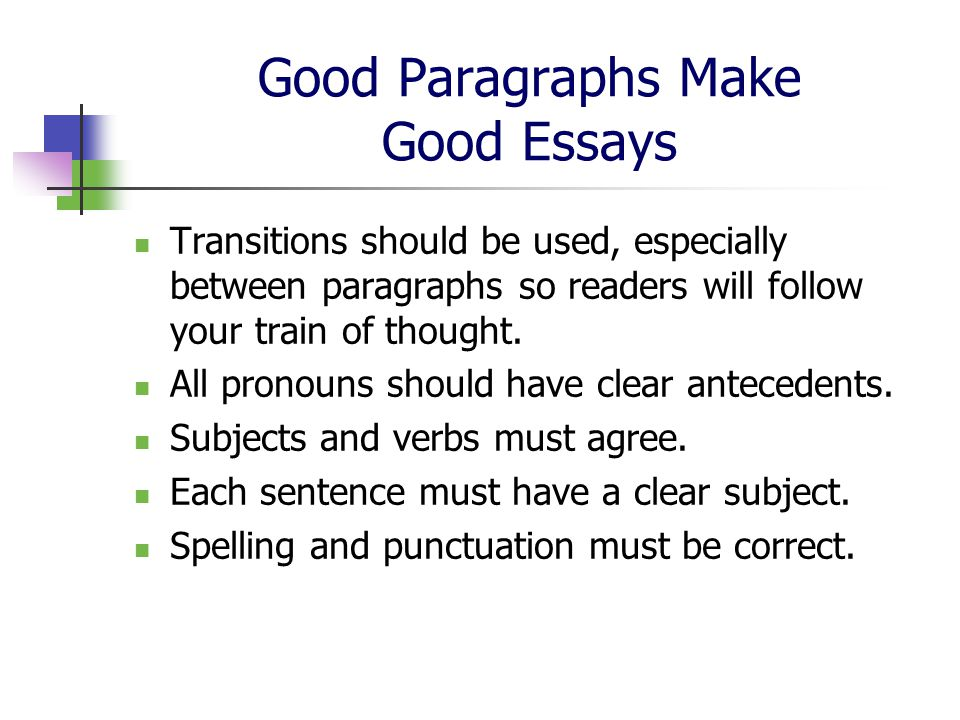 good 5 paragraph essay transitions The 5-paragraph essay is a model that instructors use to teach students the basic elements of a great essay and is commonly used in standardized testing.