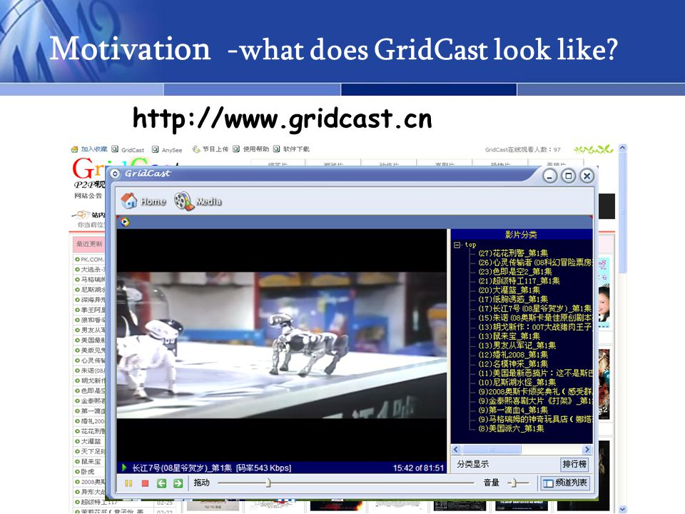 4 Motivation -what does GridCast look like