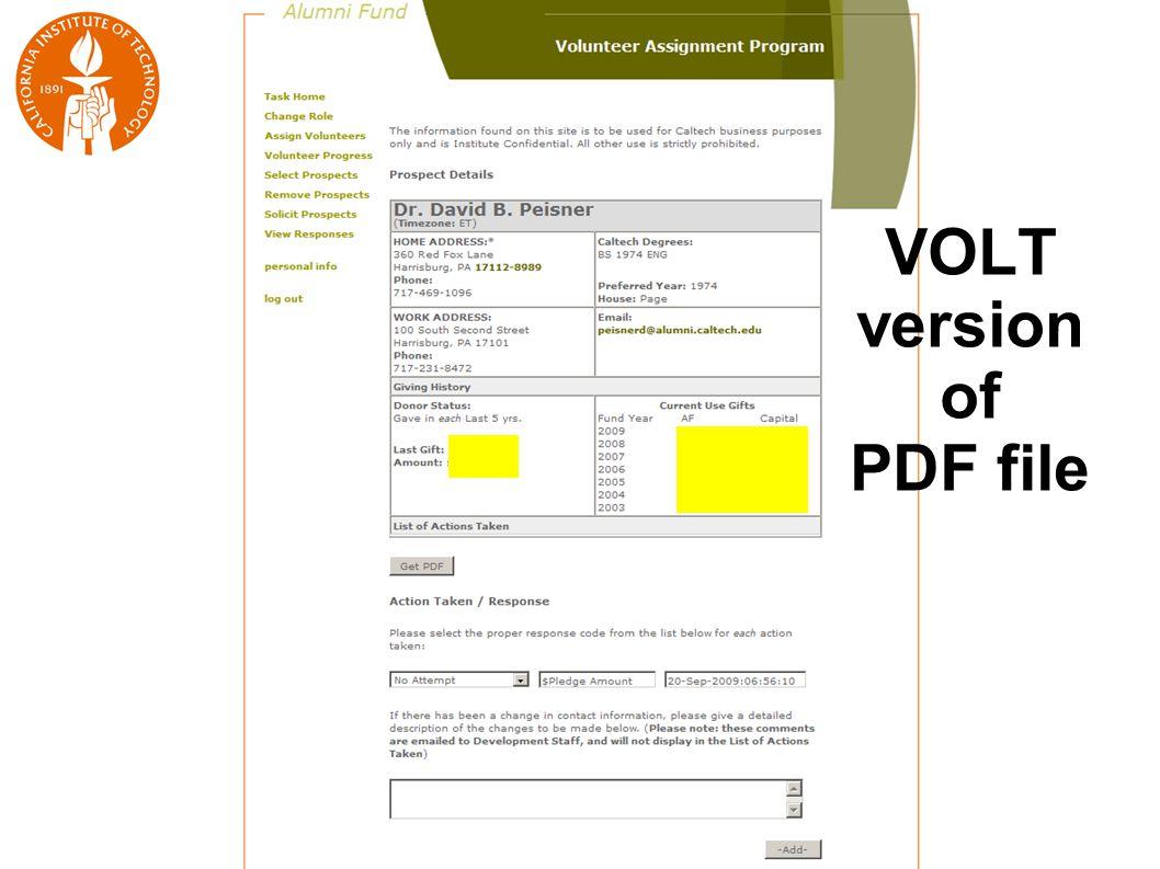 VOLT version of PDF file