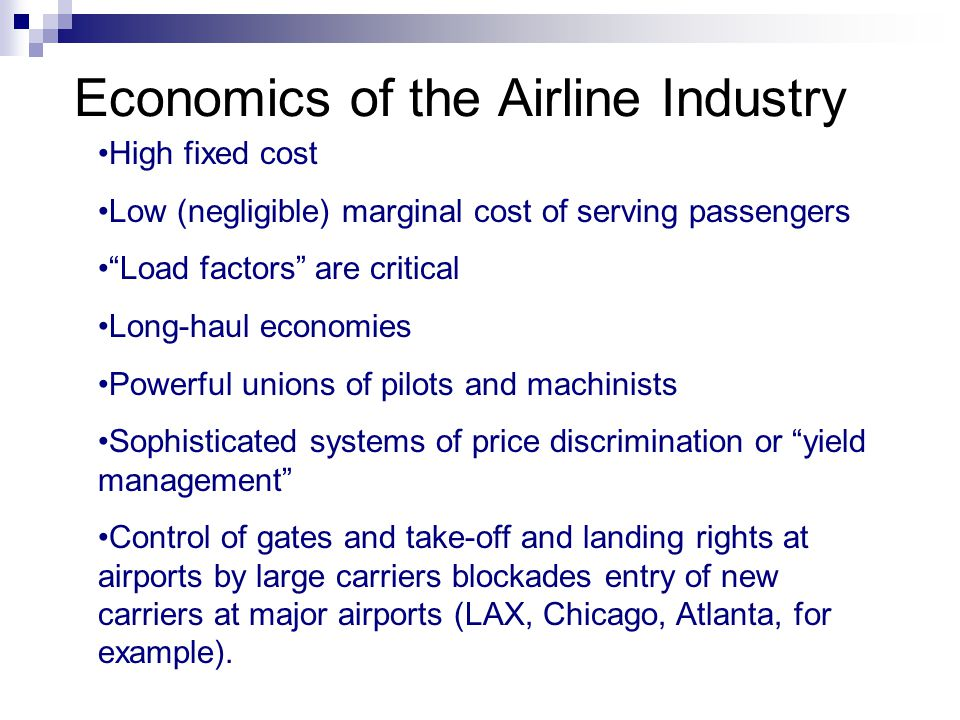 price discrimination in airline industry
