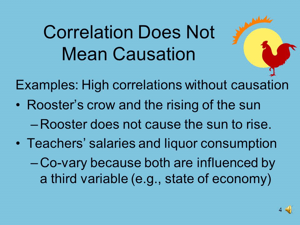 3 Correlation Coefficient Statistical measure of the co-variation or association between two variables The correlation coefficient for two variables, X and Y is: Sample question to test for statistical and managerial significance: Are dollar sales associated with advertising dollar expenditures