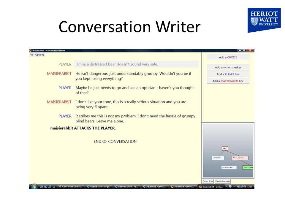 Conversation Writer
