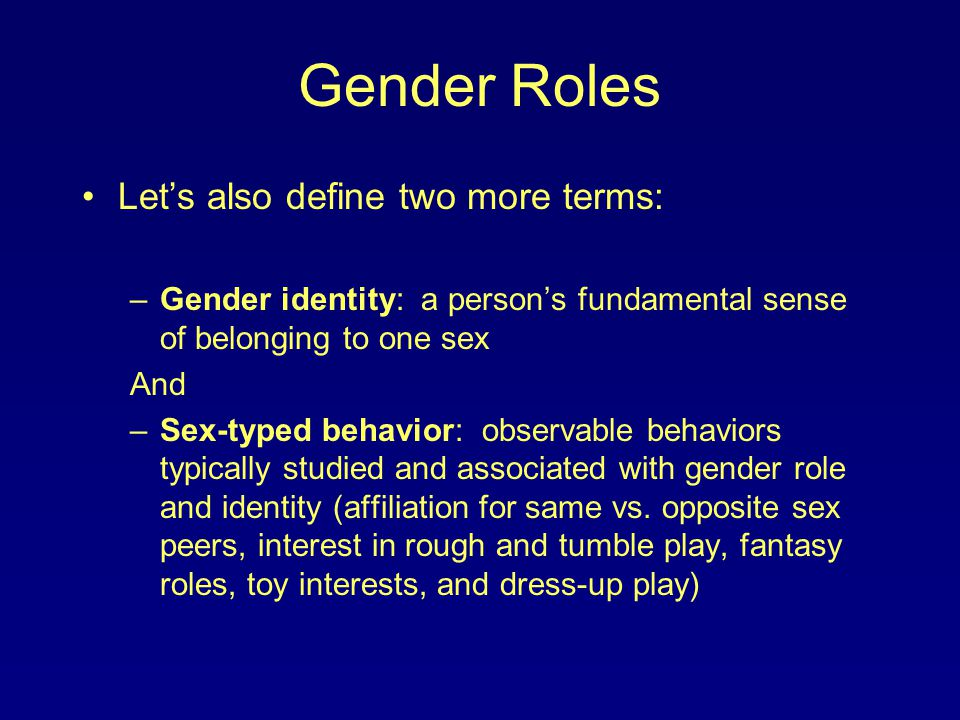 smoking behavior and gender roles Gender moves beyond biology to consider the socially constructed roles, behavior discusses how gender roles can influence health risks in (smoking) and.