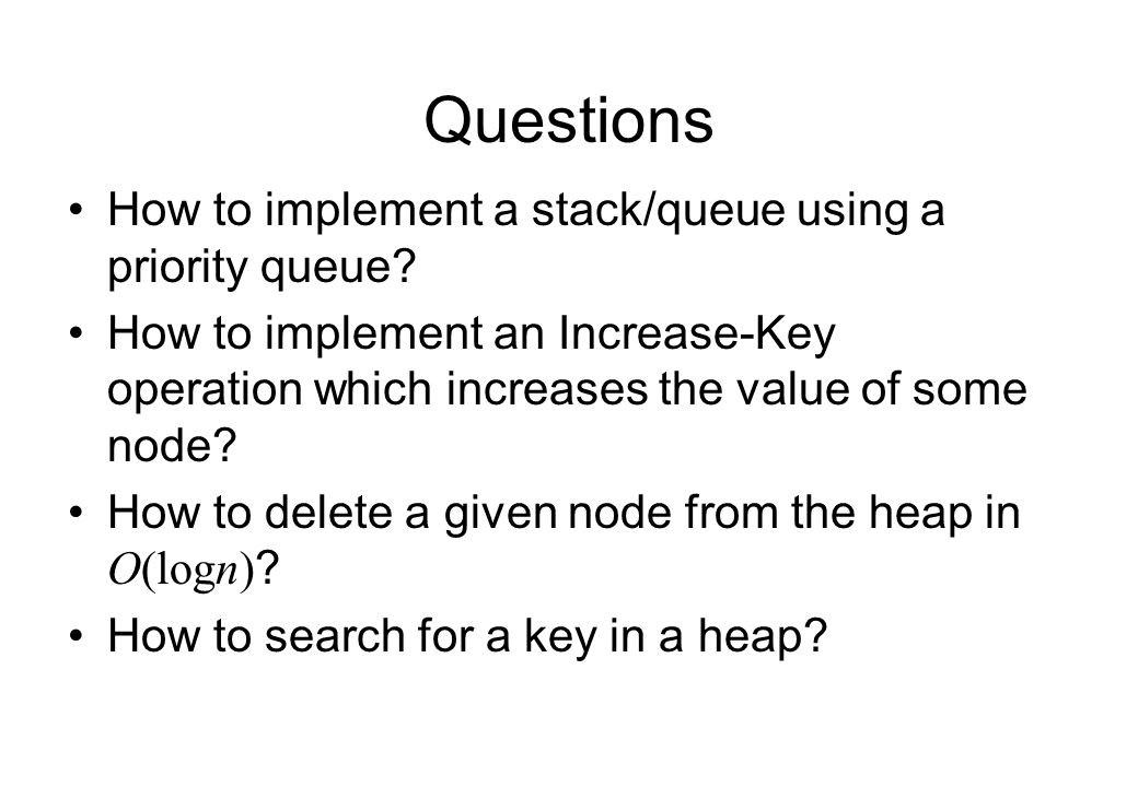 stack queue questions