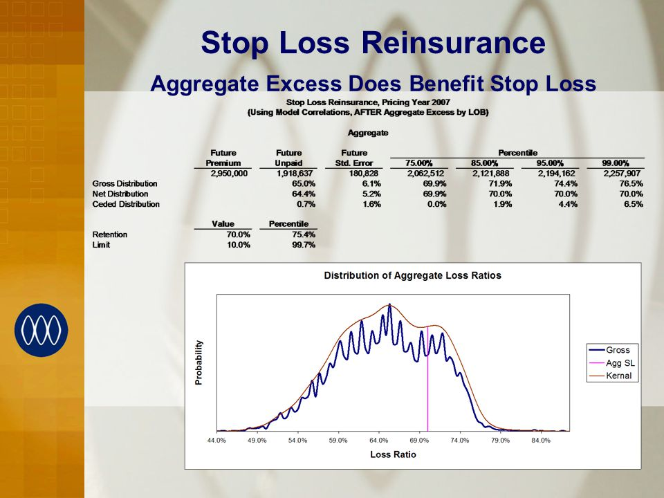 Stop Loss Reinsurance Aggregate Excess Does Benefit Stop Loss