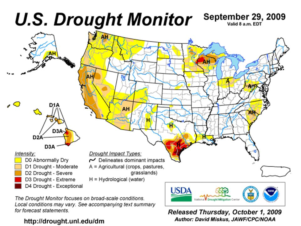 U.S. Drought Conditions