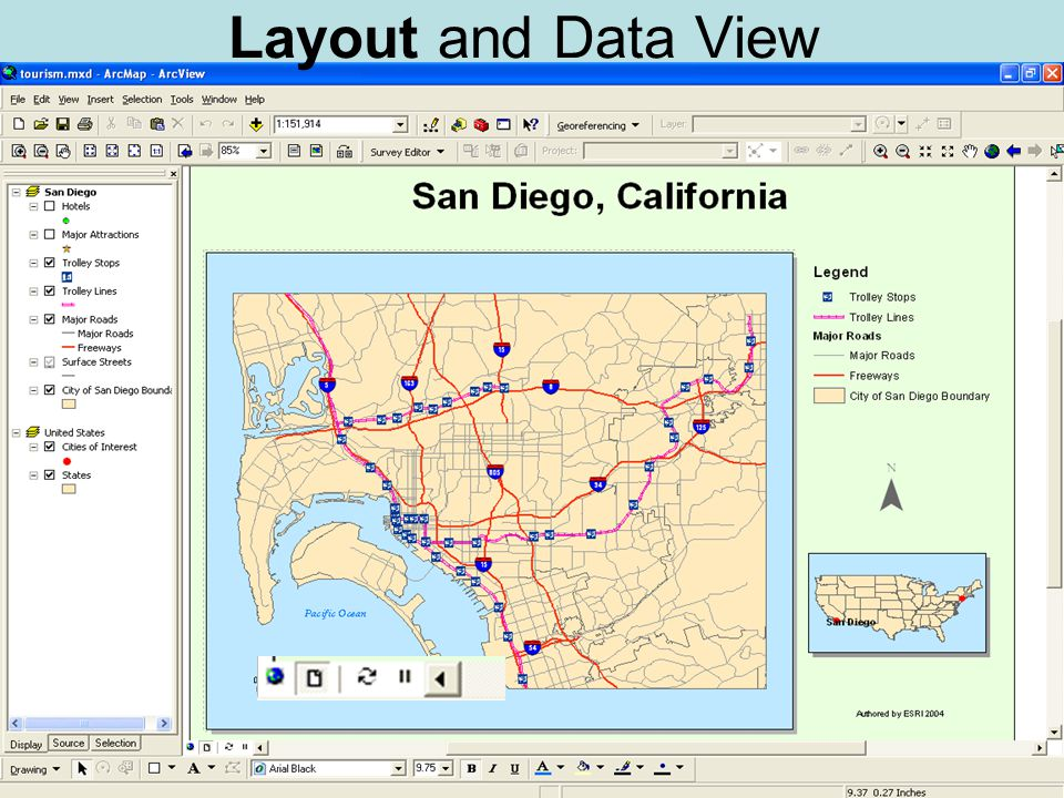 Layout and Data View