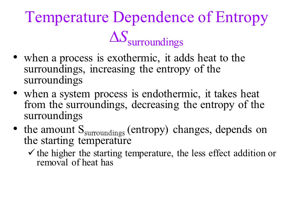 Is hell exothermic or endothermic?
