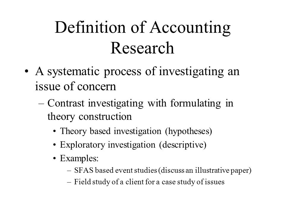 applied research example Aims to clarify the conceptual difference between basic and applied research.