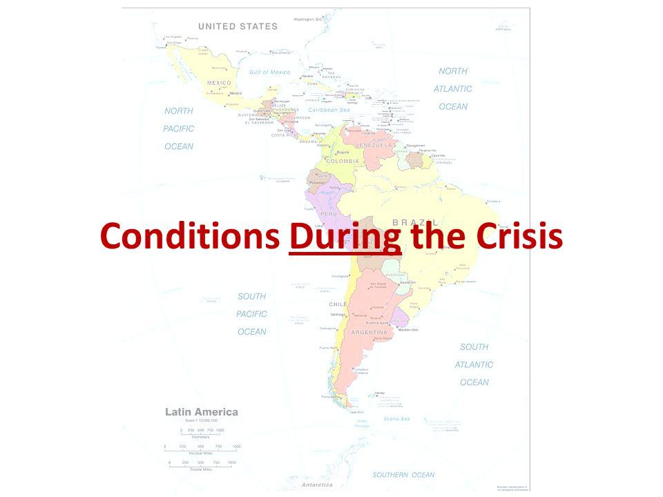 Conditions During the Crisis