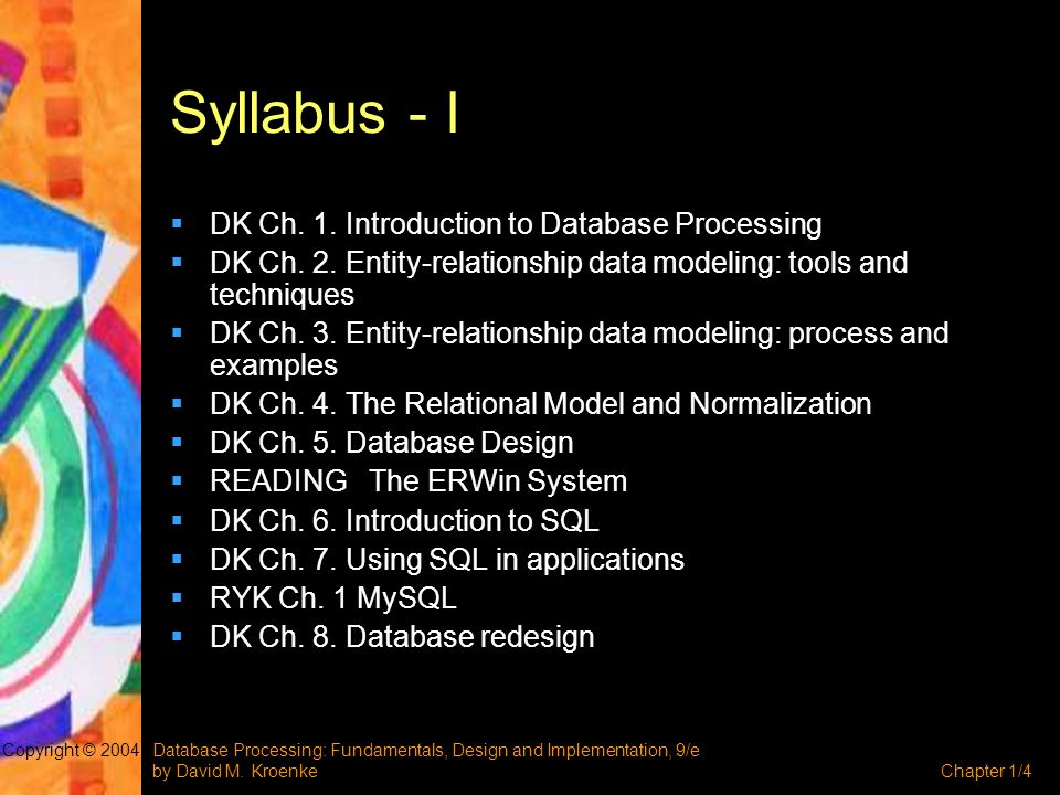 Database Processing: Fundamentals, Design and Implementation, 9/e by David M.