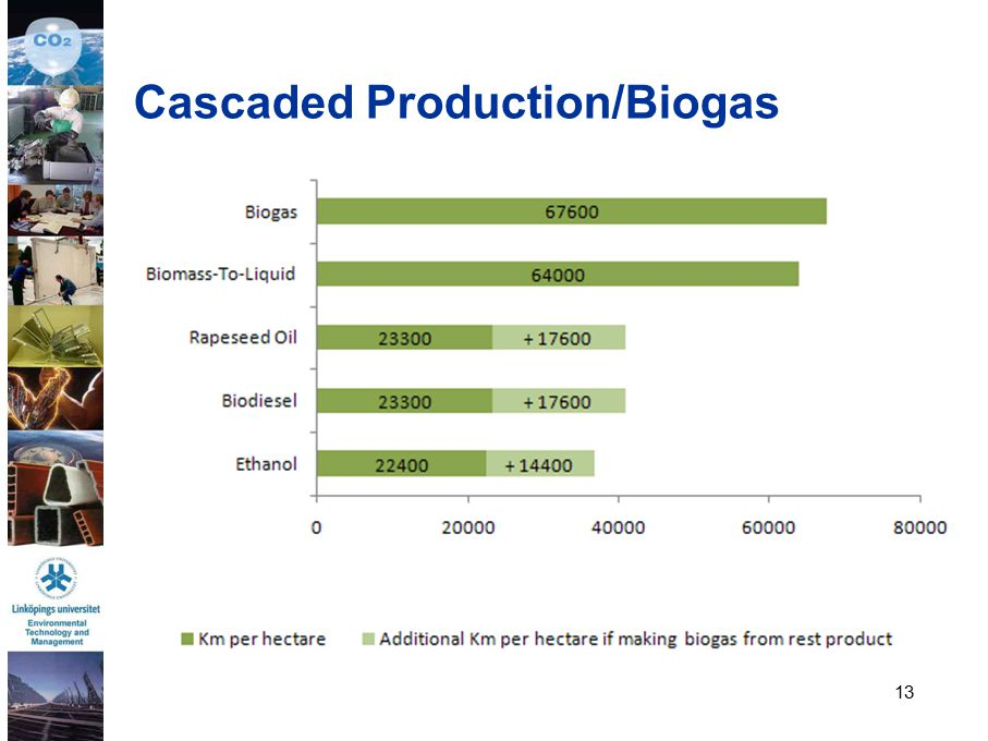 13 Cascaded Production/Biogas