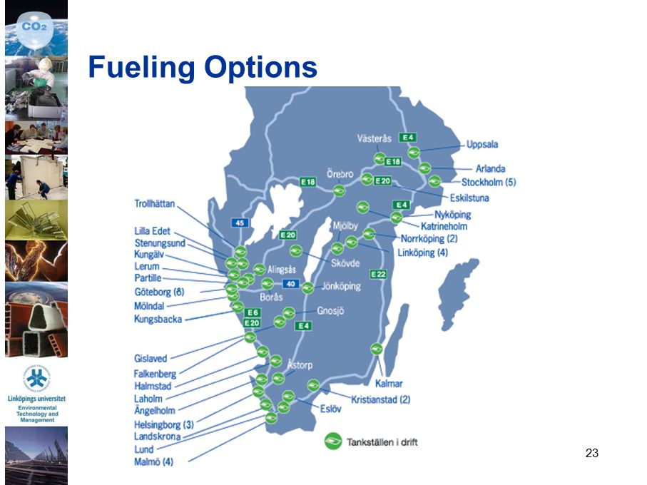 23 Fueling Options