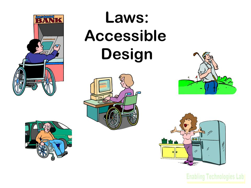 Laws: Accessible Design