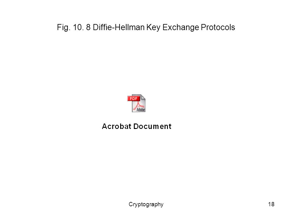 Cryptography18 Fig Diffie-Hellman Key Exchange Protocols