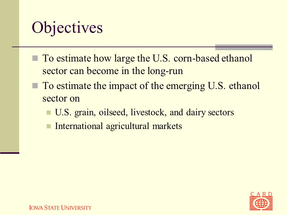 Objectives To estimate how large the U.S.